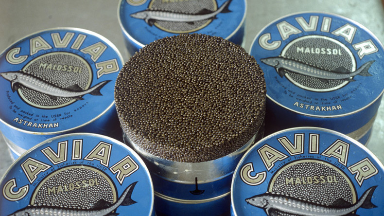 Huge jump in Russian black caviar exports