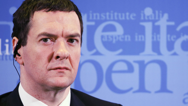 Brexit would burden Brits with 'profound economic shock' – Osborne