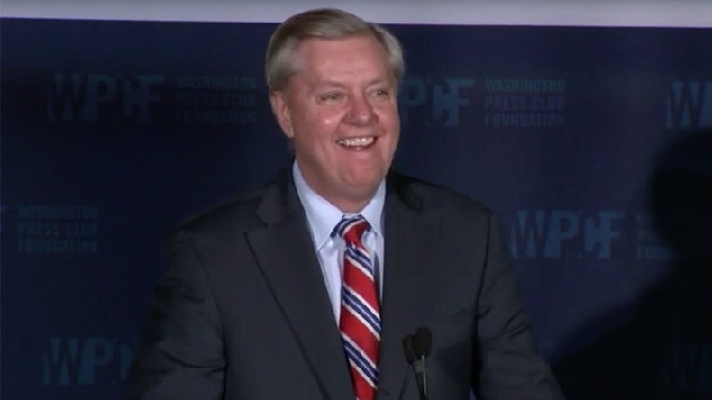 Lindsey Graham says GOP has gone 'batsh*t crazy' in 2016 race