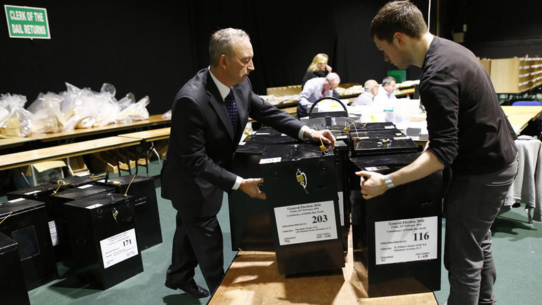 Hacking the election: Irish vote counters forced to open ballot box with handsaw (VIDEO)