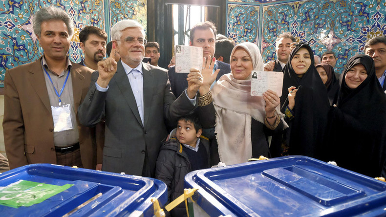 Iran's moderates on course to defeat hardliners in crucial parliamentary election – early results