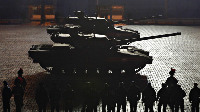 Russian army to test-drive 20 Armata tank prototypes