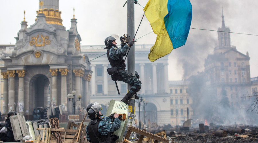 Ukraine attempts to block French documentary exposing 'fairytale of good Maidan forces'