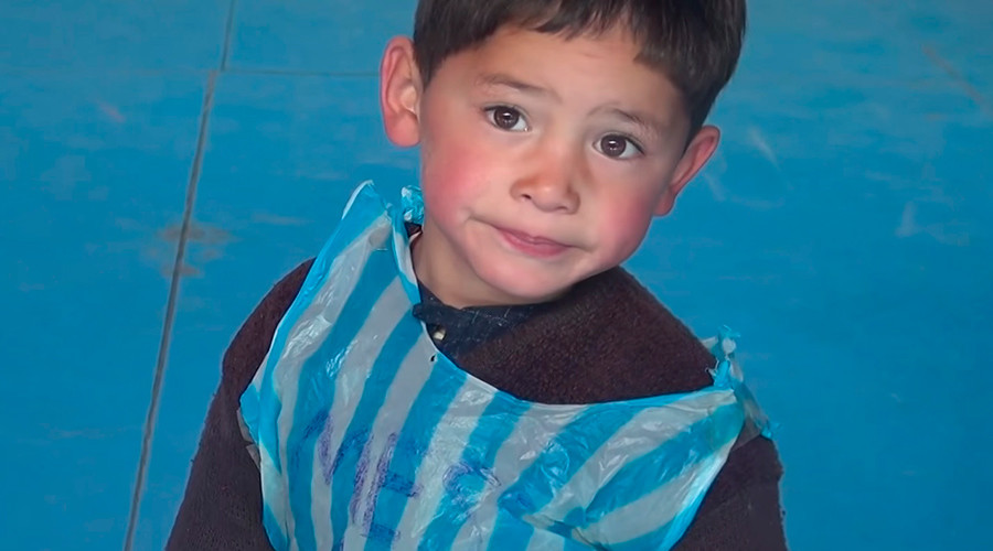 'Biggest fan': 5yo Afghan boy with plastic bag jersey may soon meet Lionel Messi (VIDEO)
