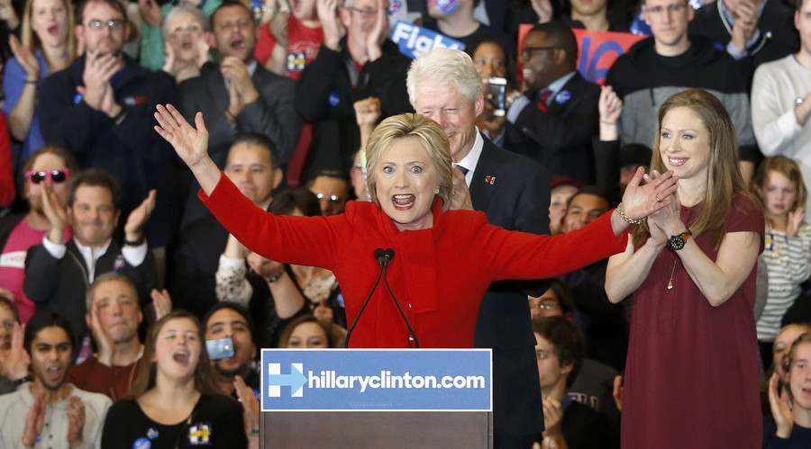 Clinton's lucky quarter: Democratic frontrunner wins 6 coin tosses in narrow Iowa caucus victory