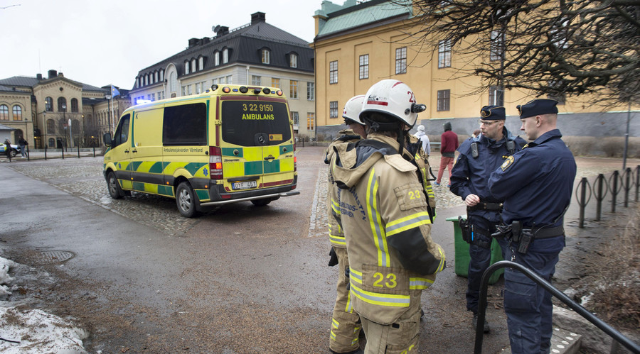 'Blast' reported at secondary school in Karlstad, Sweden