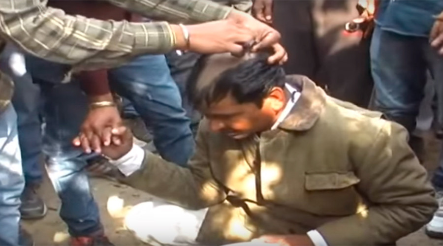 Man shaved, paraded on donkey for 'forcefully converting' Hindus to Christianity