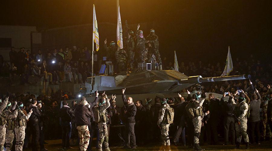 'Tanks don't run on wheels': Israel mocks hardware 'captured & rebuilt' by Hamas