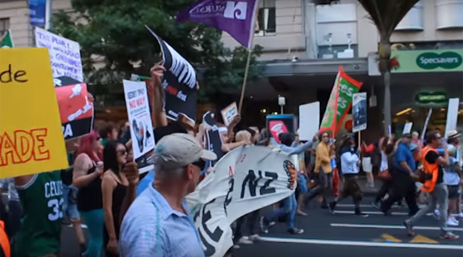 TPP formally signed in New Zealand as mass protest paralyzes Auckland (PHOTOS, VIDEO)