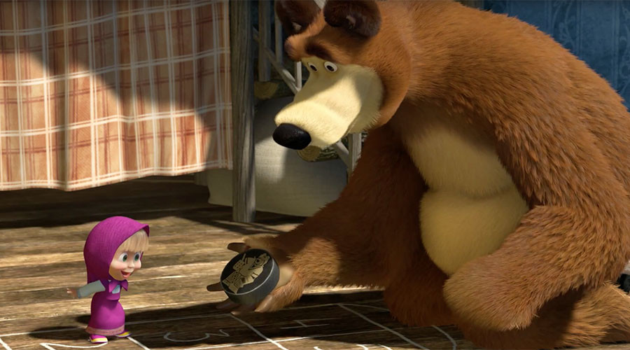 Single episode of Russian cartoon 'Masha and the Bear' conquers world with billion+ YouTube views