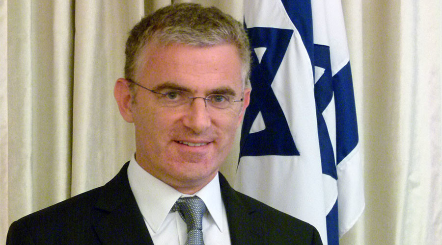 Israeli ex-ambassador fled London after 'repeated security breaches'