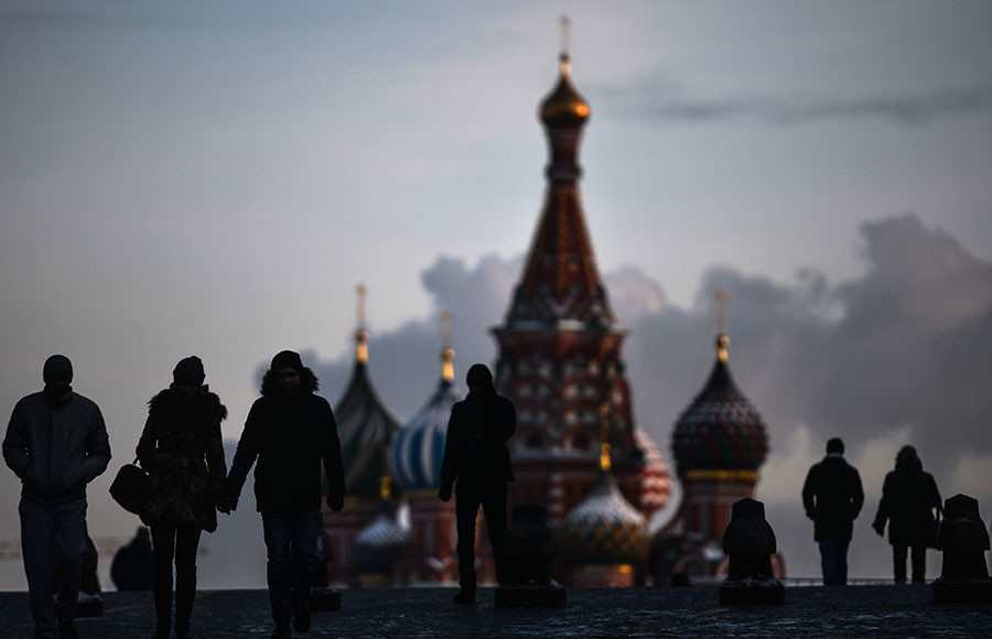 Western nations see Russia as competitor, majority of Russians say in a poll