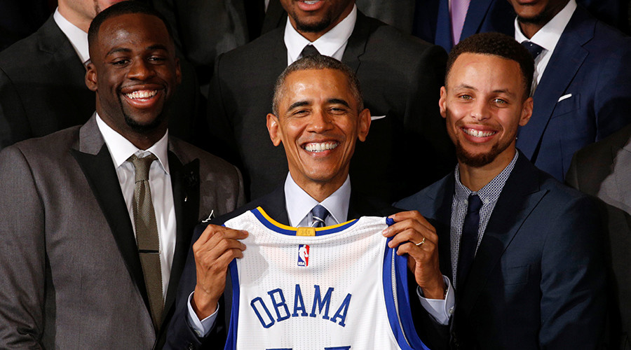 Obama praises Warriors' talents as Curry prepares for All-Star weekend