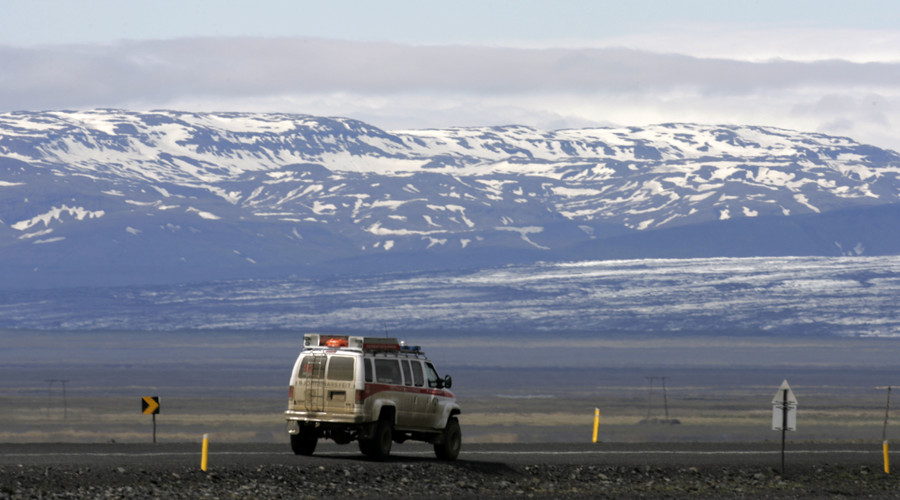 GPS typo results in American crossing Iceland by mistake