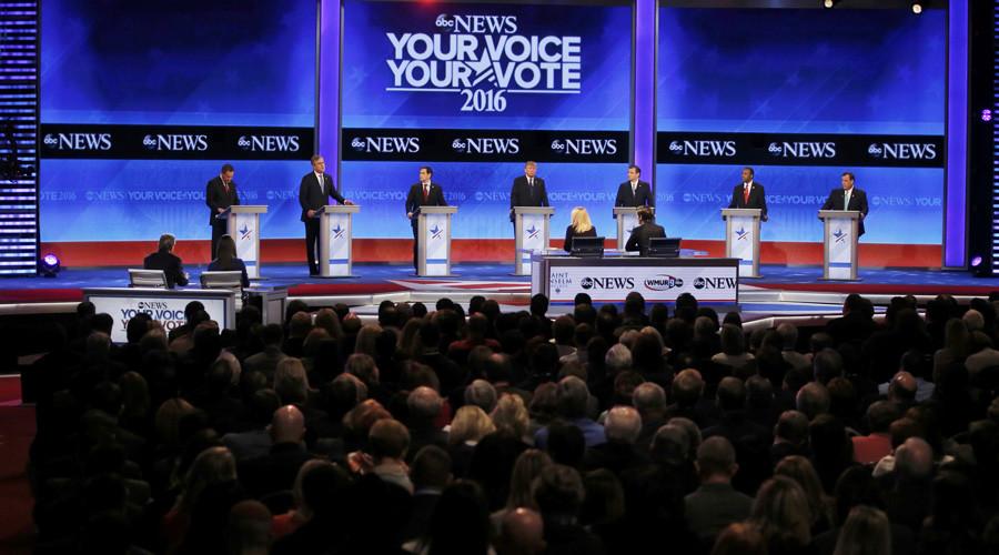 'Trump-Cruz, the Republican radical fringe, battles Wall Street's favorite, Marco Rubio'