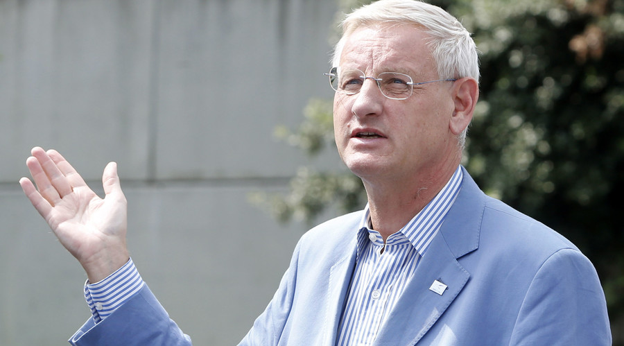 Carl Bildt's ominous 'advice' on Ukraine