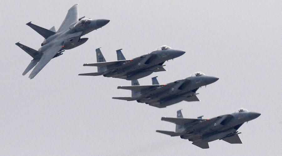 American F-15s to join 1st Finland drill over 'increased Russian activity'