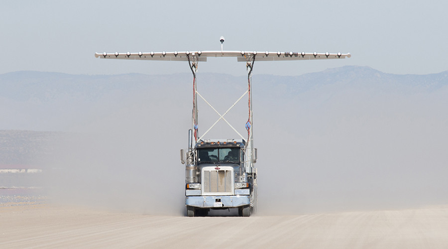 NASA tests experimental 18-propeller wing in step towards new electric aircraft