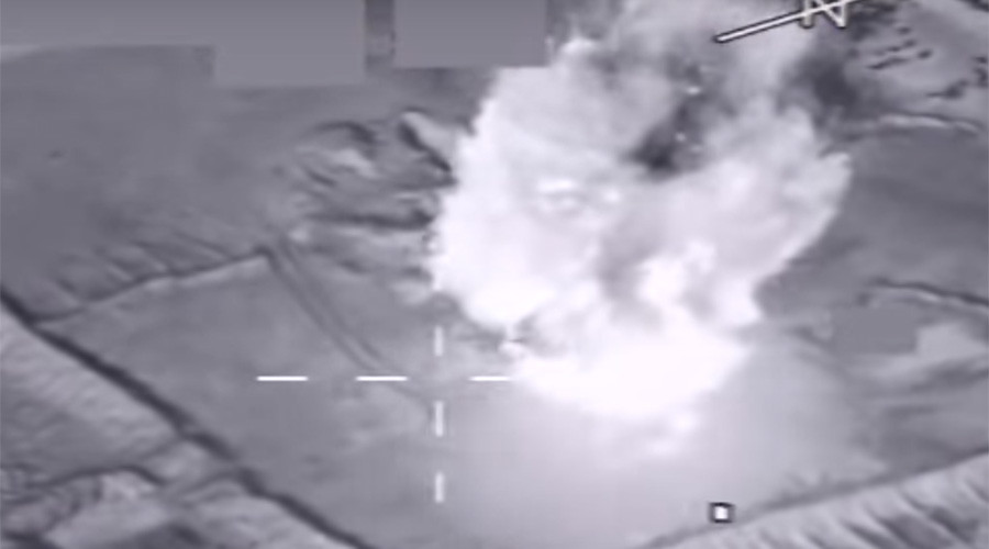 US-led airstrikes destroy ISIS oil & gas plant (VIDEO)