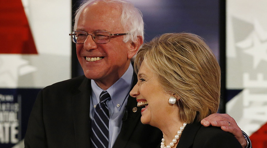Hillary Sanders? Clinton singing Bernie's tune on banks, campaign finance