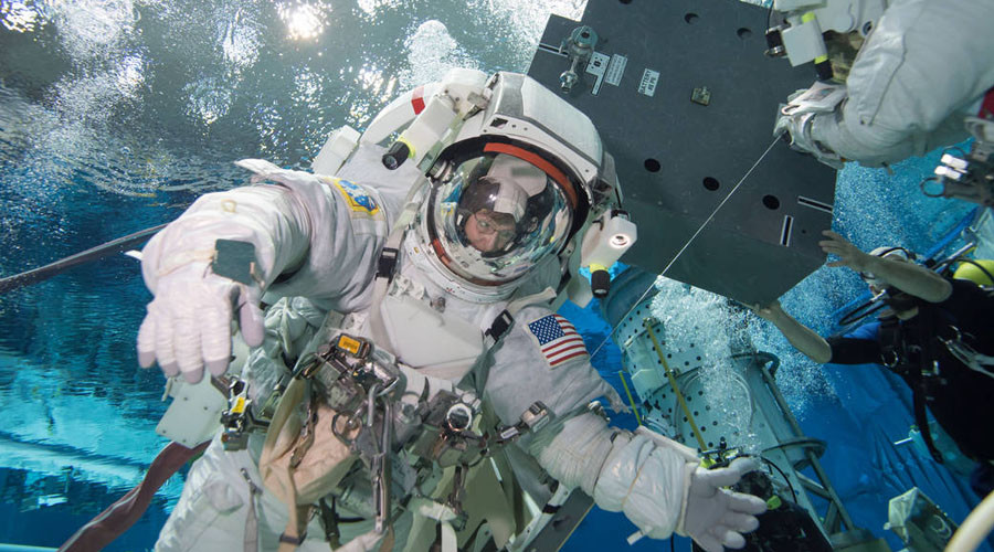 Move over OK Go: This is what real astronaut training looks like