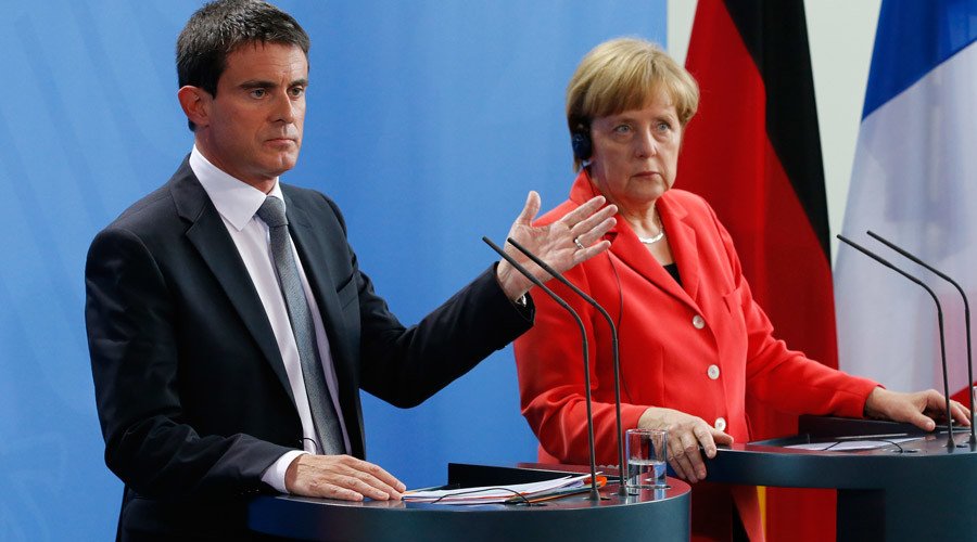 Merkel's migrant policy 'unsustainable,' says French PM