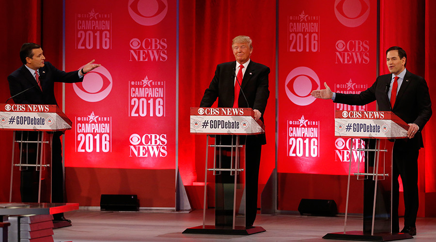 'We're fixing to lose to Clinton': GOP debate delves ever deeper into mudslinging & name-calling