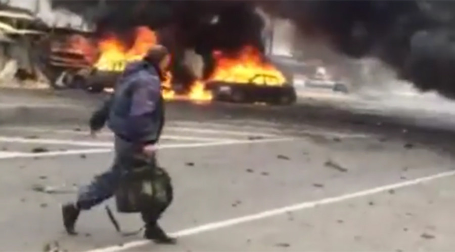 ISIS claims responsibility for southern Russian car bombing that killed 2, injured 17 (VIDEO)