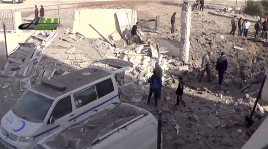 Kremlin denies claims Russian jets bombed Syrian hospital, says reports 'unsubstantiated'
