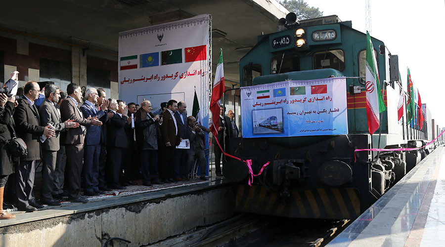 First 'Silk Road' train arrives in Iran from China