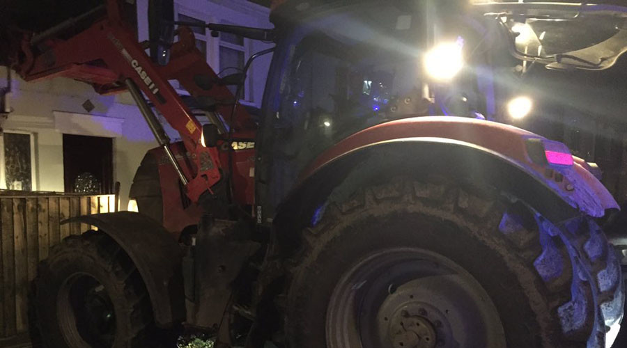 Slow your roll: Tractor thief gets 8 months for 10mph police chase