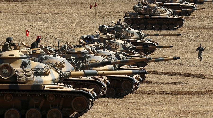 Turkey wants 'secure line' created 10km inside Syria, including Azaz - deputy PM