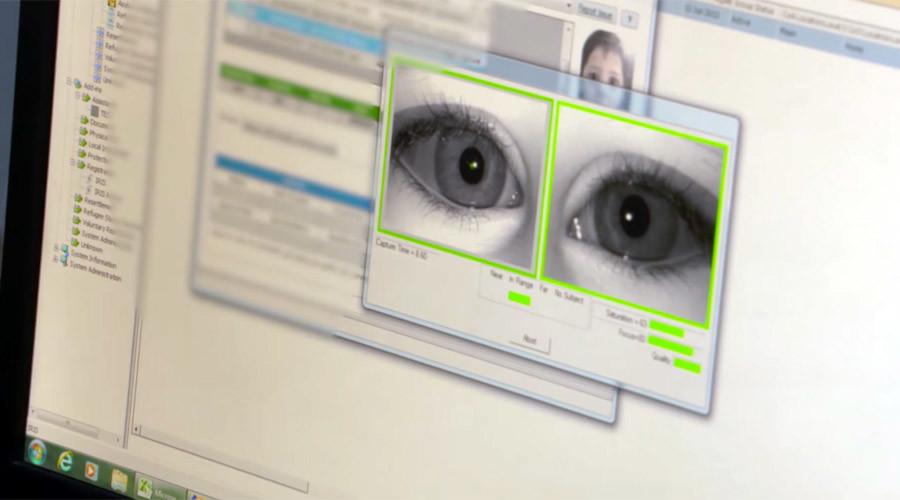 Iris scan tech sees refugees in Jordan receive food assistance in blink of an eye