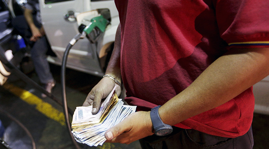 Petrol pump pain: Venezuelan gasoline prices jump 6,000%