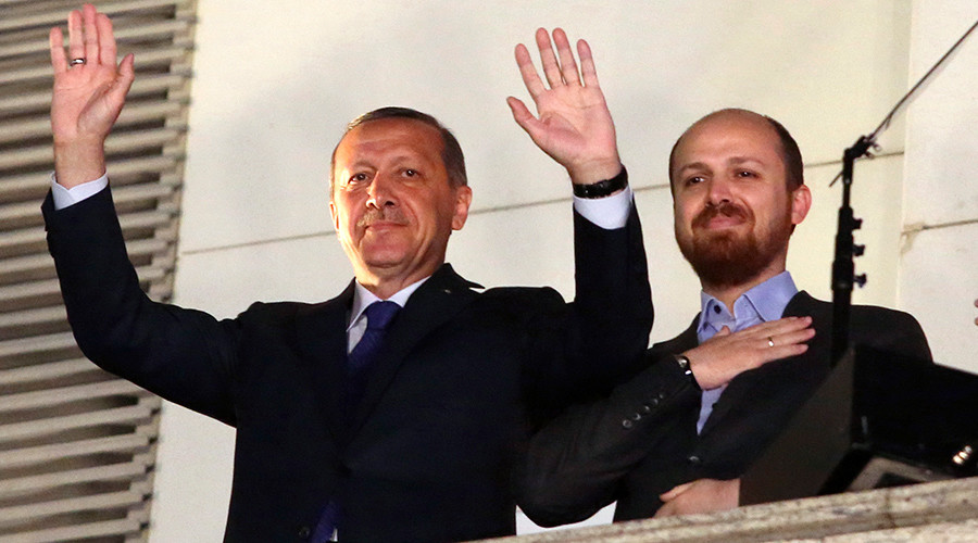 Erdogan's son under investigation in Italy over allegations of money laundering