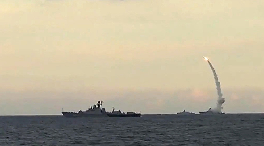 Russia plans permanent rotation of cruise missile carrying corvettes in Mediterranean