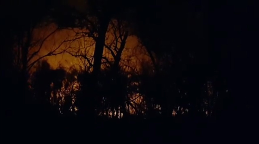 Massive bush fire burning on grounds of New Jersey refinery (PHOTO, VIDEO)