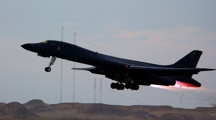 B-1 bombers removed from ISIS campaign in Iraq & Syria