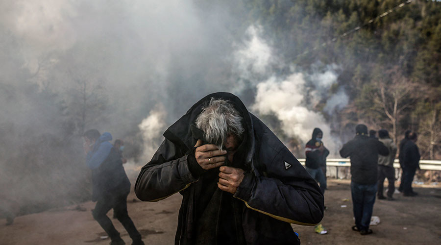 More tear gas in in Artvin, Turkey as anti-mining protests enter 7th day (VIDEO, PHOTOS)