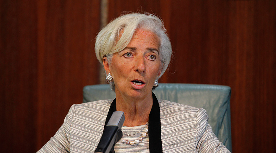 Pot or kettle? IMF's Lagarde calls for 'Robin Hood tax' on super-rich