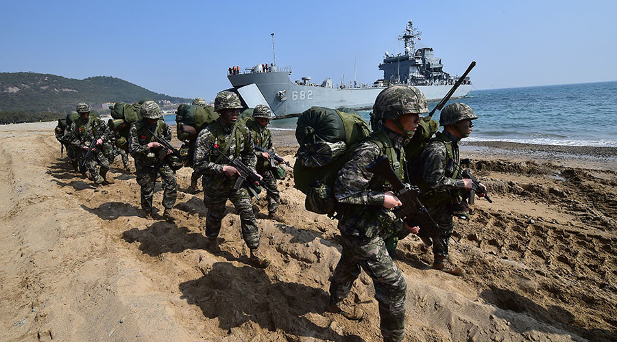 S.Korea, US will rehearse invasion of N.Korea in record-breaking joint military drills