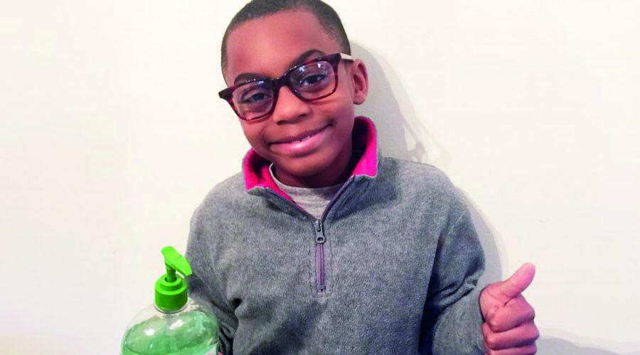 Virginia 2nd-grader raises $10k to bring hand sanitizer to Flint schools