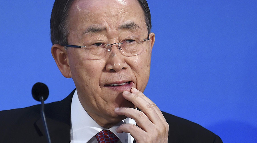 WikiLeaks: NSA spied on UN's Ban Ki-Moon & other world leaders for US oil companies