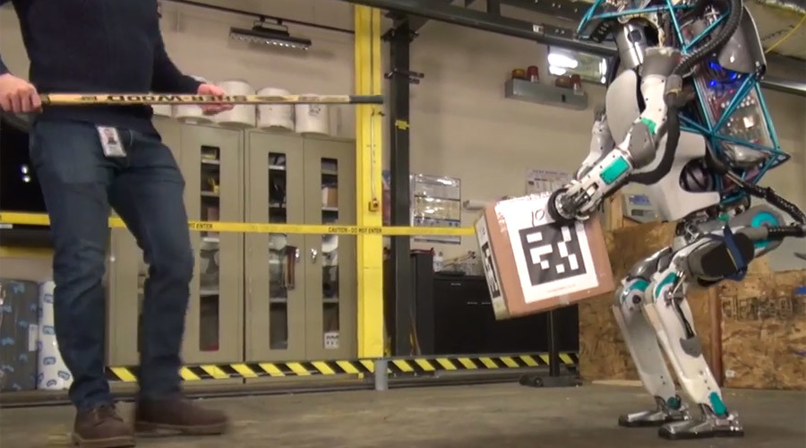Rise of the machines: Super-agile cyborg takes first steps to global domination (VIDEO)
