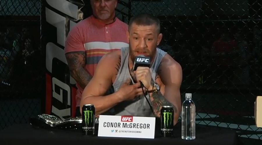 UFC 196: McGregor & Diaz crank up war of words in expletive-filled press conference