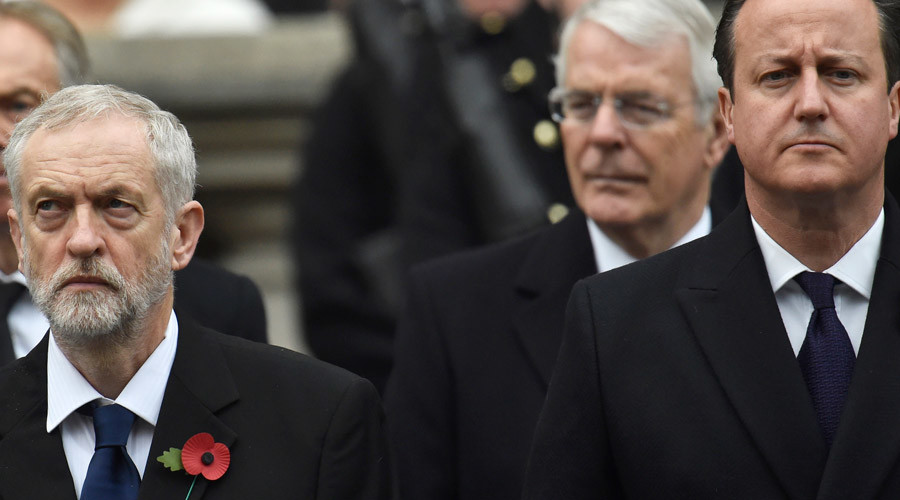 'He's just jealous': Corbyn rebuffs Cameron's fashion advice