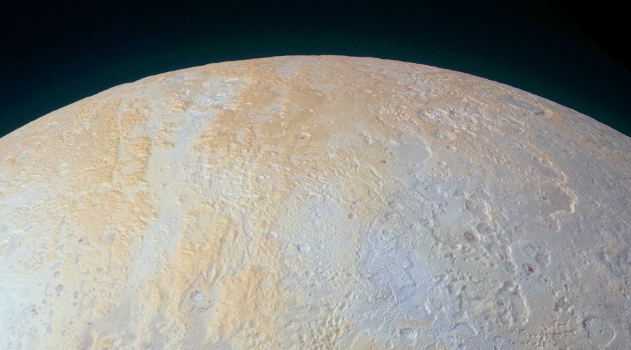Frozen canyons on Pluto's North Pole revealed in new NASA image