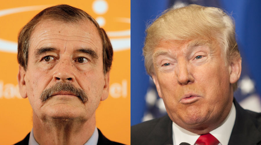 'Can't build wall if hands are too small': Mexico's ex-president trolls Trump with T-shirt (PHOTO)