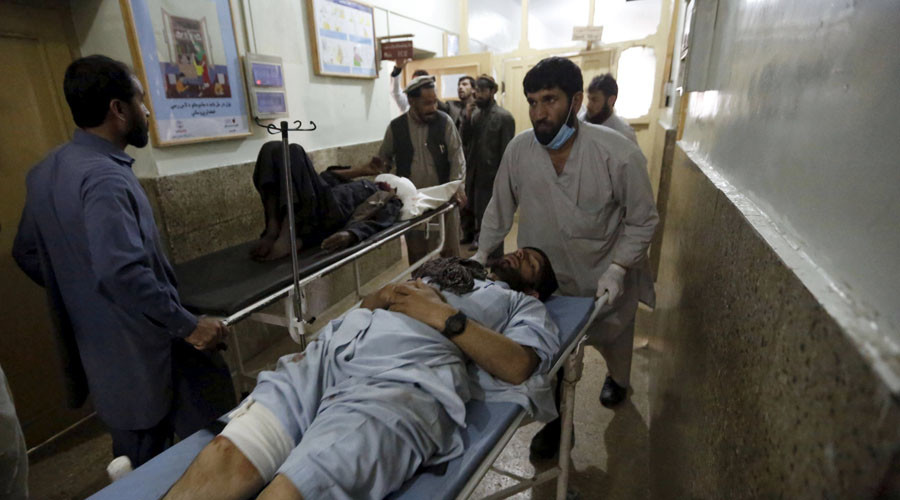 At least 11 killed in suicide bombing near governor's office in Kunar, Afghanistan