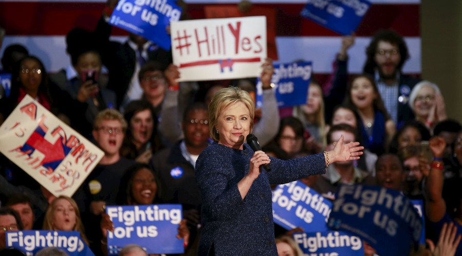 Clinton wins big South Carolina primary